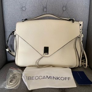 Rebecca Minkoff Darren Leather Messenger Bag
